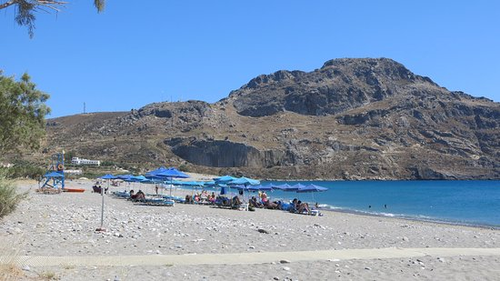 Plakias, Grecia: Pláž