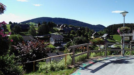 St. Kathrein am Offeneg, Austria: Kilátás a hotelből