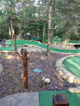 Whistling Wolf Mini Golf