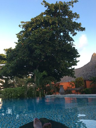 Matachica Resort & Spa: Sitting anywhere on this property is a beautiful view