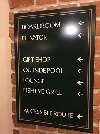 Embassy Suites by Hilton Orlando - International Drive / Convention Center : signage from lobby
