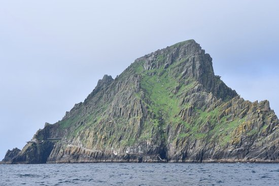 Portmagee, Irland: Skellig Michael - site used for STAR WARS Movie