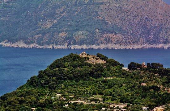 Mount Solaro: Looking toward Sorrento