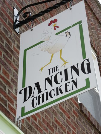the dancing chicken picture of the dancing chicken cafe and local