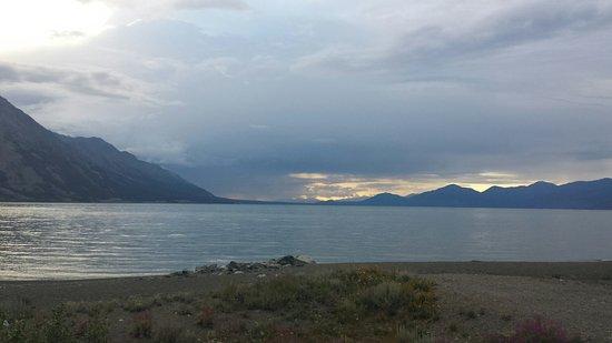 Burwash Landing, Canada: Kluane Lake