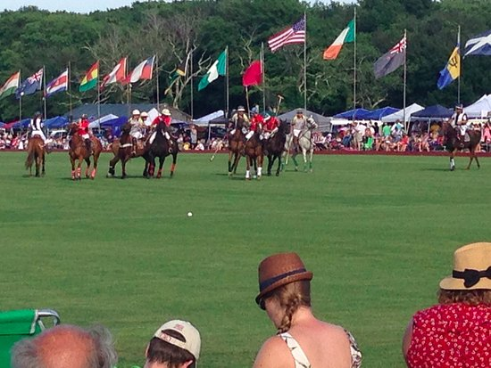 Portsmouth, RI: Polo Match Action
