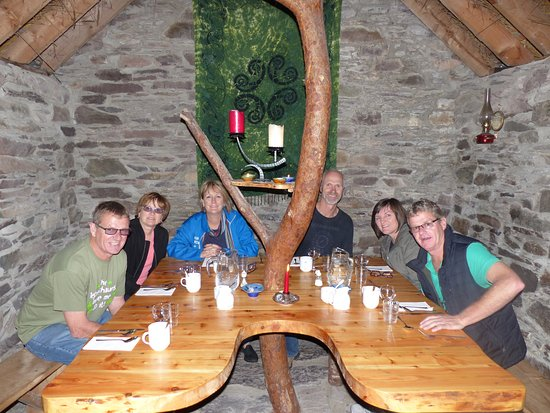 Kenmare, Ireland: South Aussies enjoyed lunch at Molly Gallivan's Cottage.