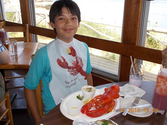 Phippsburg, ME: lobster plate!