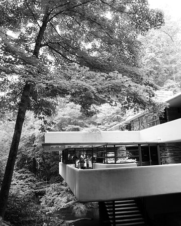 Addison, PA: Fallingwater by Frank Lloyd Wright