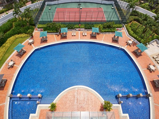 Village Residence Hougang by Far East Hospitality: Village Residence Hougang - Swimming Pool