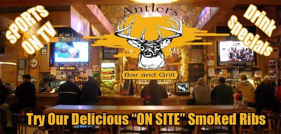 Larsen, WI: Antlers Bar