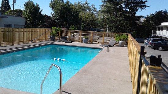 The M Ashland Motel: Freshly Remodeled Pool