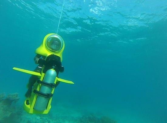 رحلات تحت الماء