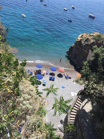 Hotel Onda Verde: Secluded little Positano beach