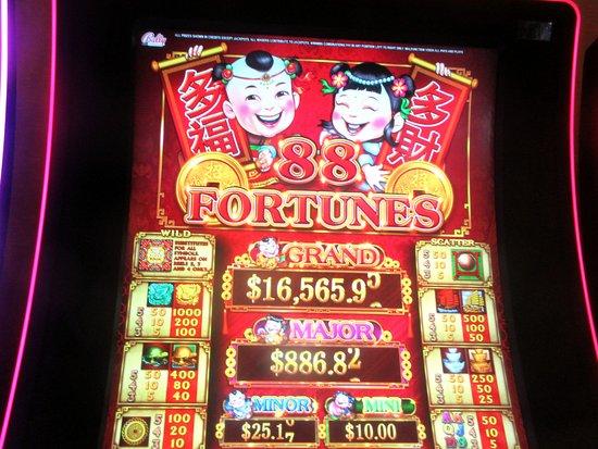 Cache Creek Slot Machine, Brooks, Ca