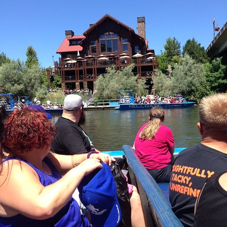 Grants Pass, Oregón: A view from the river