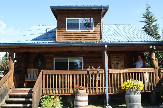 Soldotna, AK: Cabin room with outdoor area
