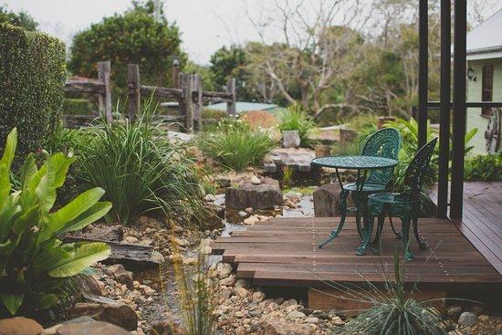 Flaxton, Australia: Water feature