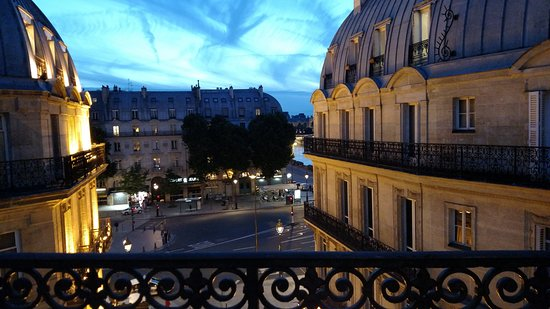 Hotel Albe Saint Michel: From the balcony at dusk