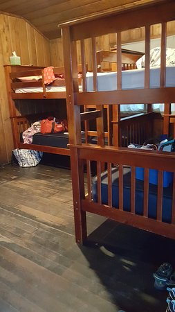 Camano Island, واشنطن: The two sets of bunk beds