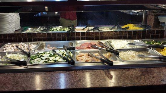 Towson, MD: Hibachi grill food