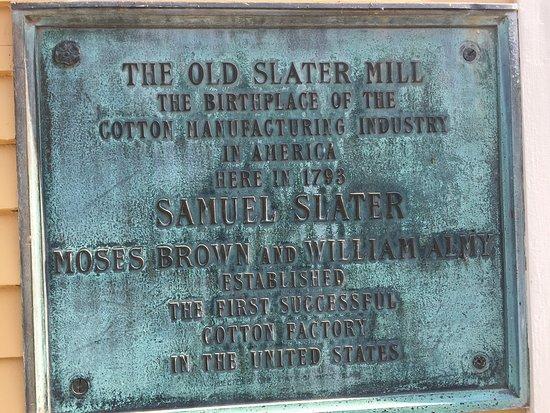 Pawtucket, RI: Slater Mill Museum