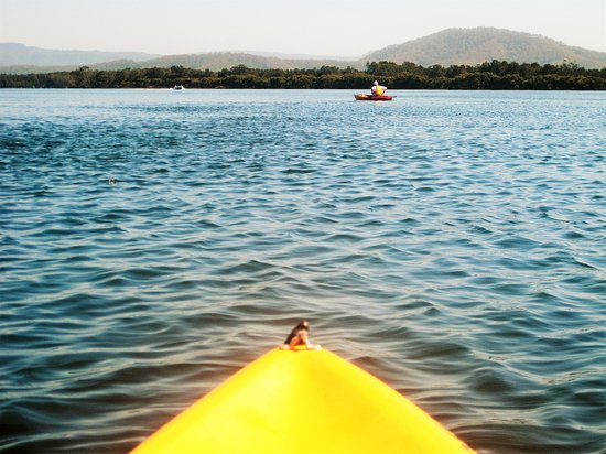 Greenwell Point, Avustralya: Paddling The Shoalhaven River