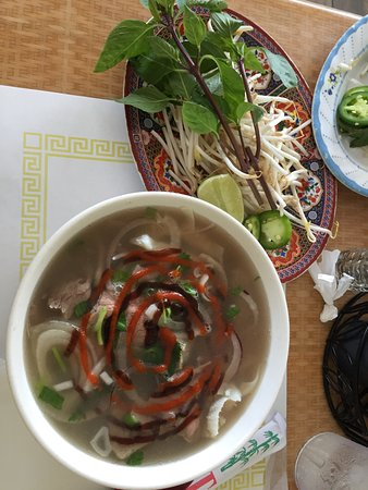 Lawndale, CA: this is a small bowl of pho dat biet