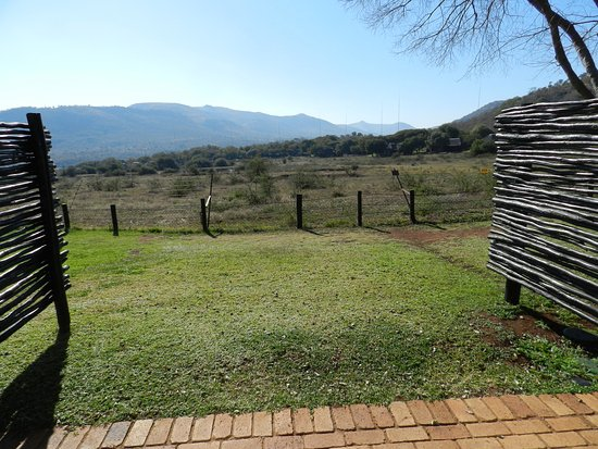 Bakubung Bush Lodge: looking out from room to sanctuary