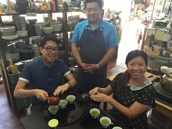 Chikuma, Japonia: Hands-on activities like learning the proper way to make Japanese green tea