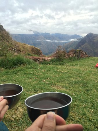 Llama Path: They wake you up with Coca tea outside your tent