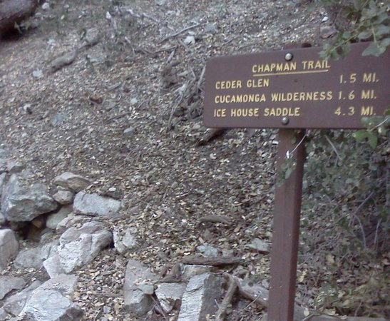 Mount Baldy, Califórnia: Icehouse Trail - # P
