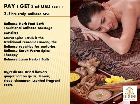 Disini Luxury Spa Villas: pay 1 get 2