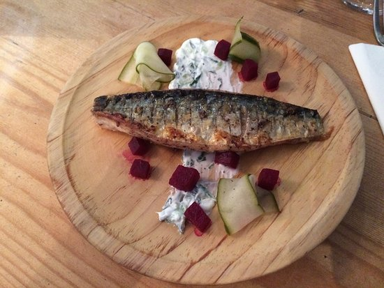 Whitstable, UK: Mackerel