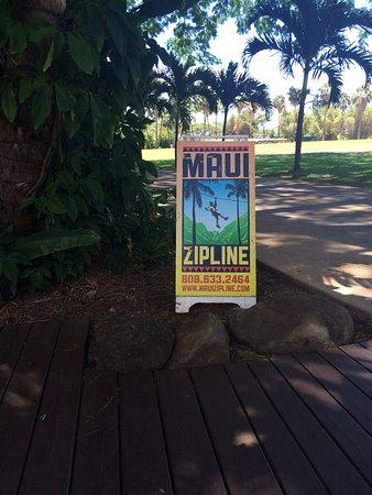 Wailuku, Hawái: Zipline
