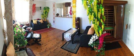 Gasalong Thai Massage: Reception area