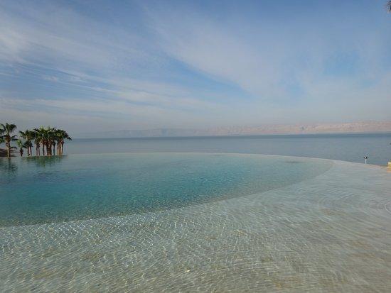Kempinski Hotel Ishtar Dead Sea: オーシャンビュープール