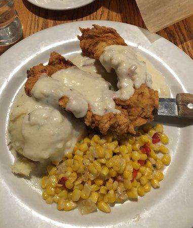 Toll Road Restaurant: Overpriced $20 Chicken Fried Chicken