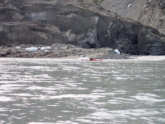 Haines, AK: Near a glacier