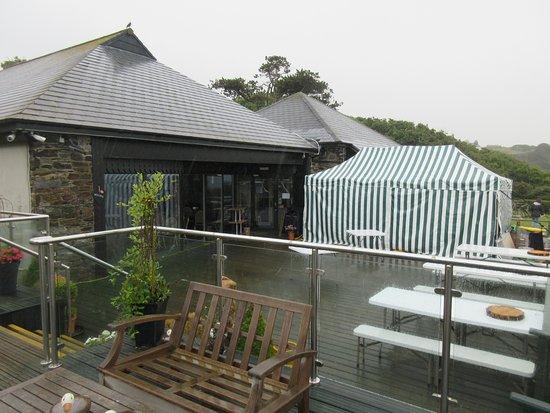 Bradda Glen Restaurant and Tea Rooms: outside view