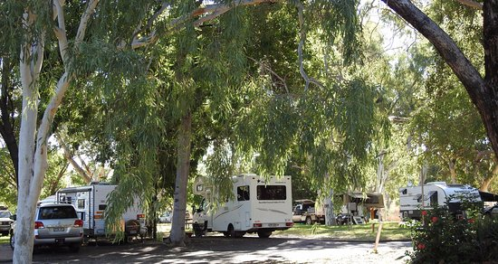 Wyndham Caravan Park: Shady sites