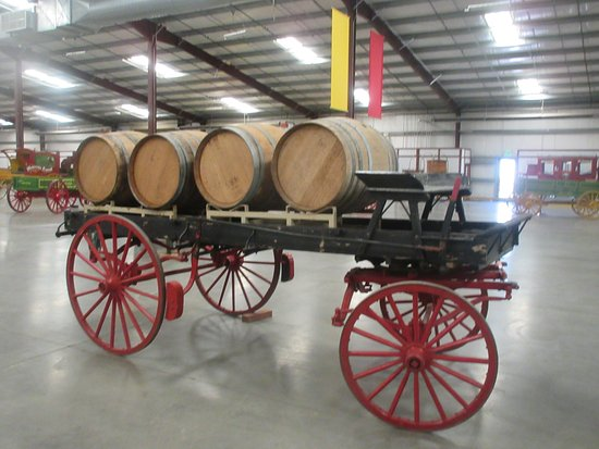 Wine Barrel Wagon, California Agricultural History Center Museum, Woodland, CA