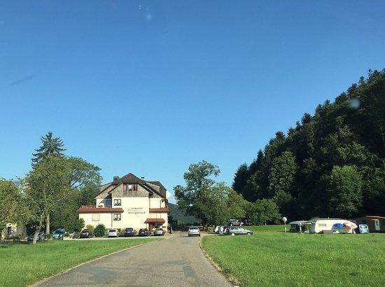 Biberach, เยอรมนี: Anfahrt zum Kinzigstrand
