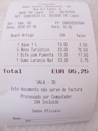 Restaurante O Pescador La Note Pour 6 Carte De Visite