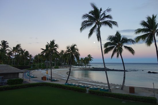 Fairmont Orchid, Hawaii: View from our room (deluxe ocean view king)