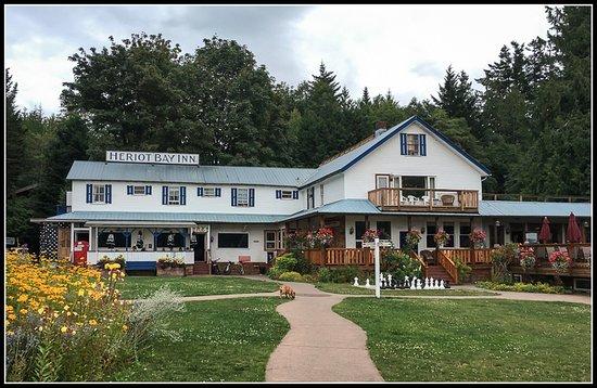 Quadra Island, Kanada: Heriot Bay Inn