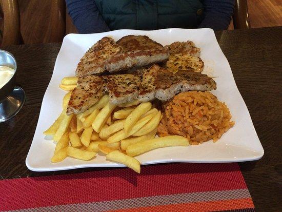 Delmenhorst, Jerman: Der Grillteller :) Absolute Spitze!!!!