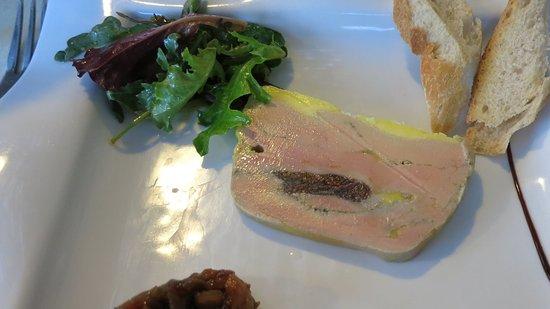 Goult, Frankreich: Terrine foie gras
