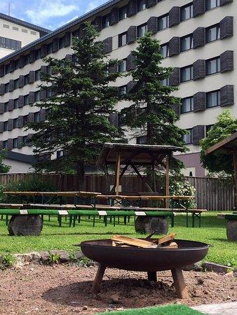 Hotel Ringberg: Lagerfeuerstelle