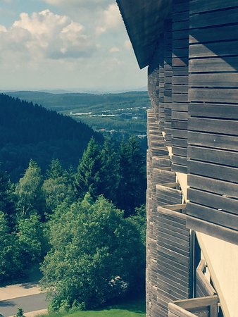 Hotel Ringberg: Ausblick vom Balkon